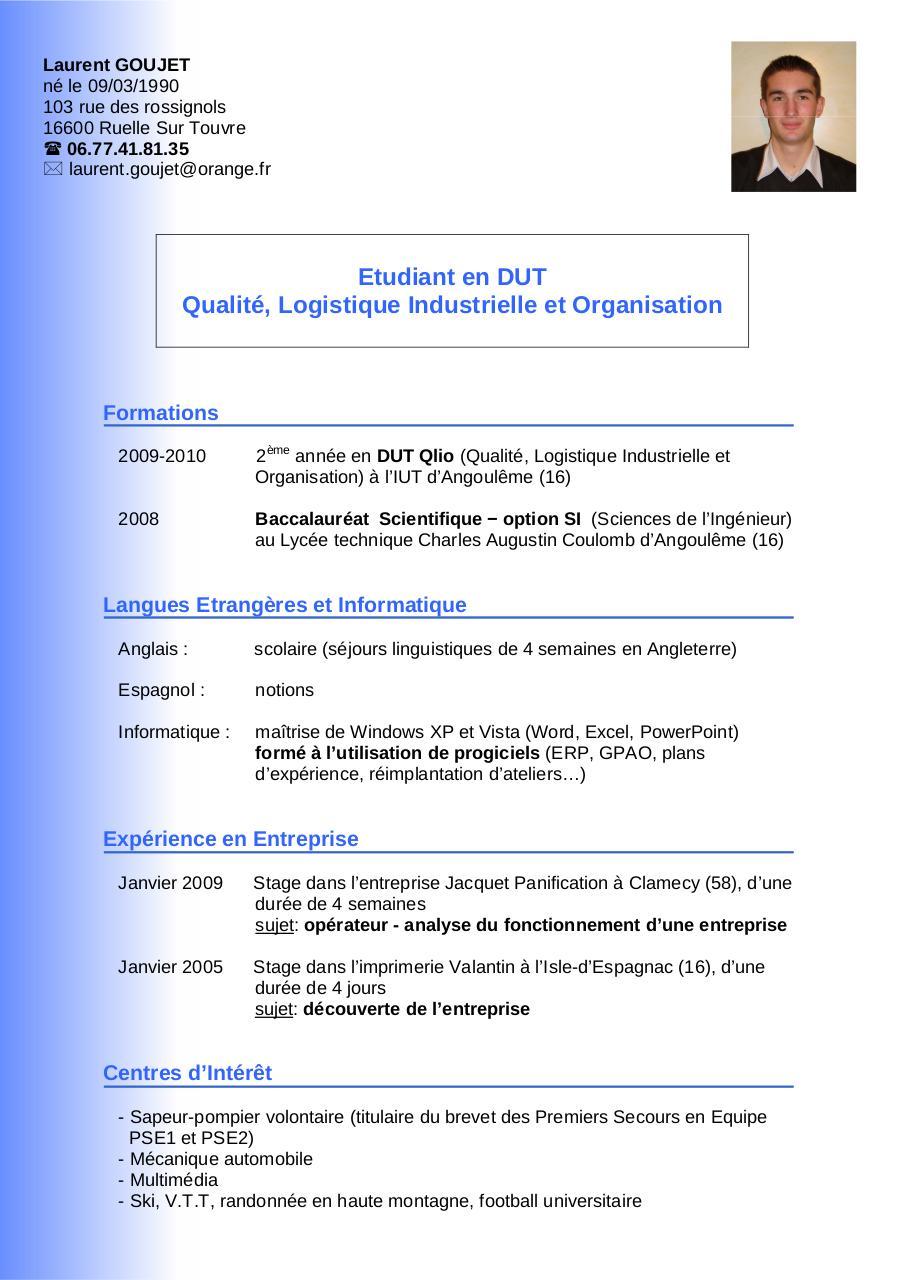 cv l g pdf par philippe