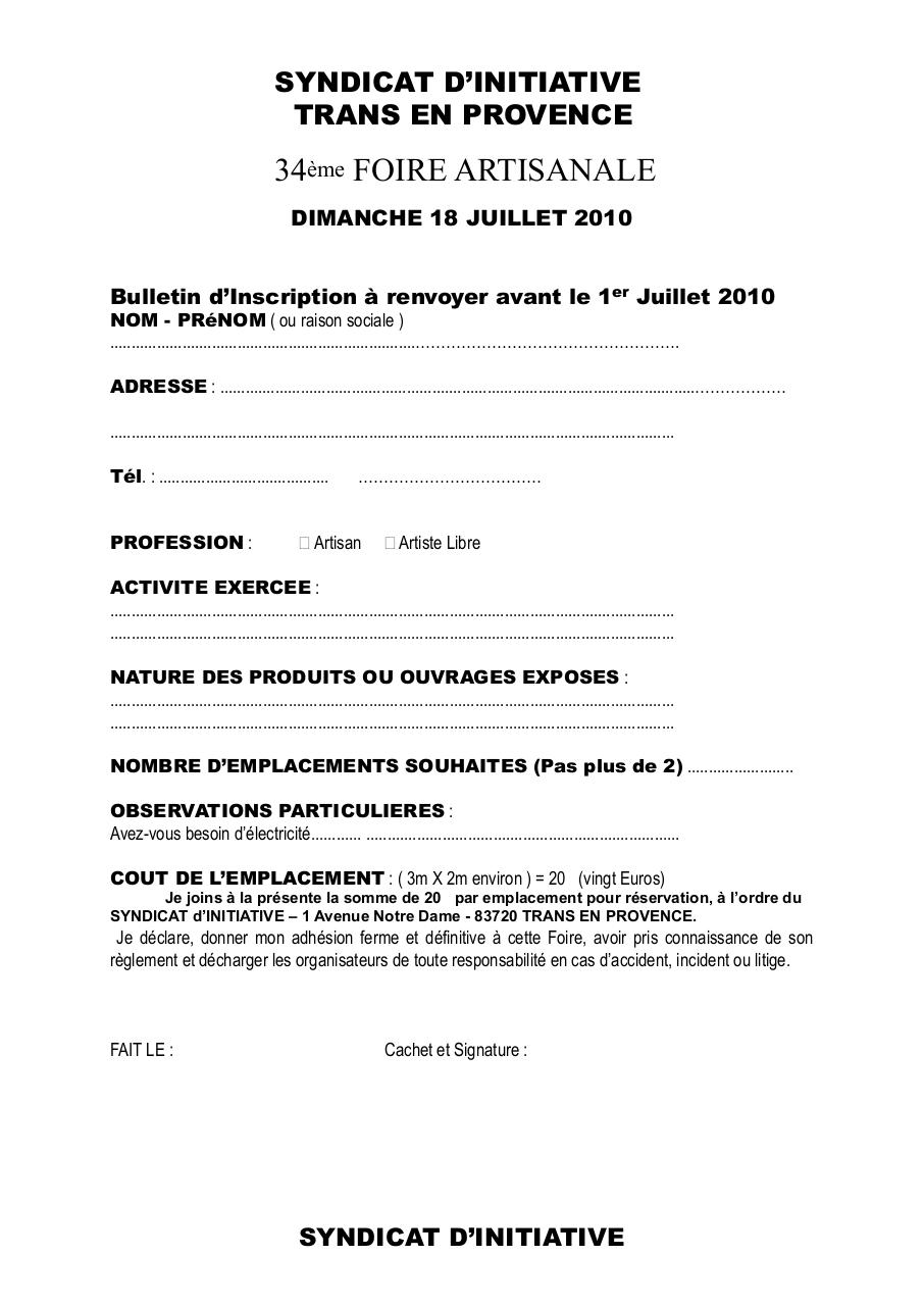 Aperçu du document Bulletin Inscription.pdf - page 1/1