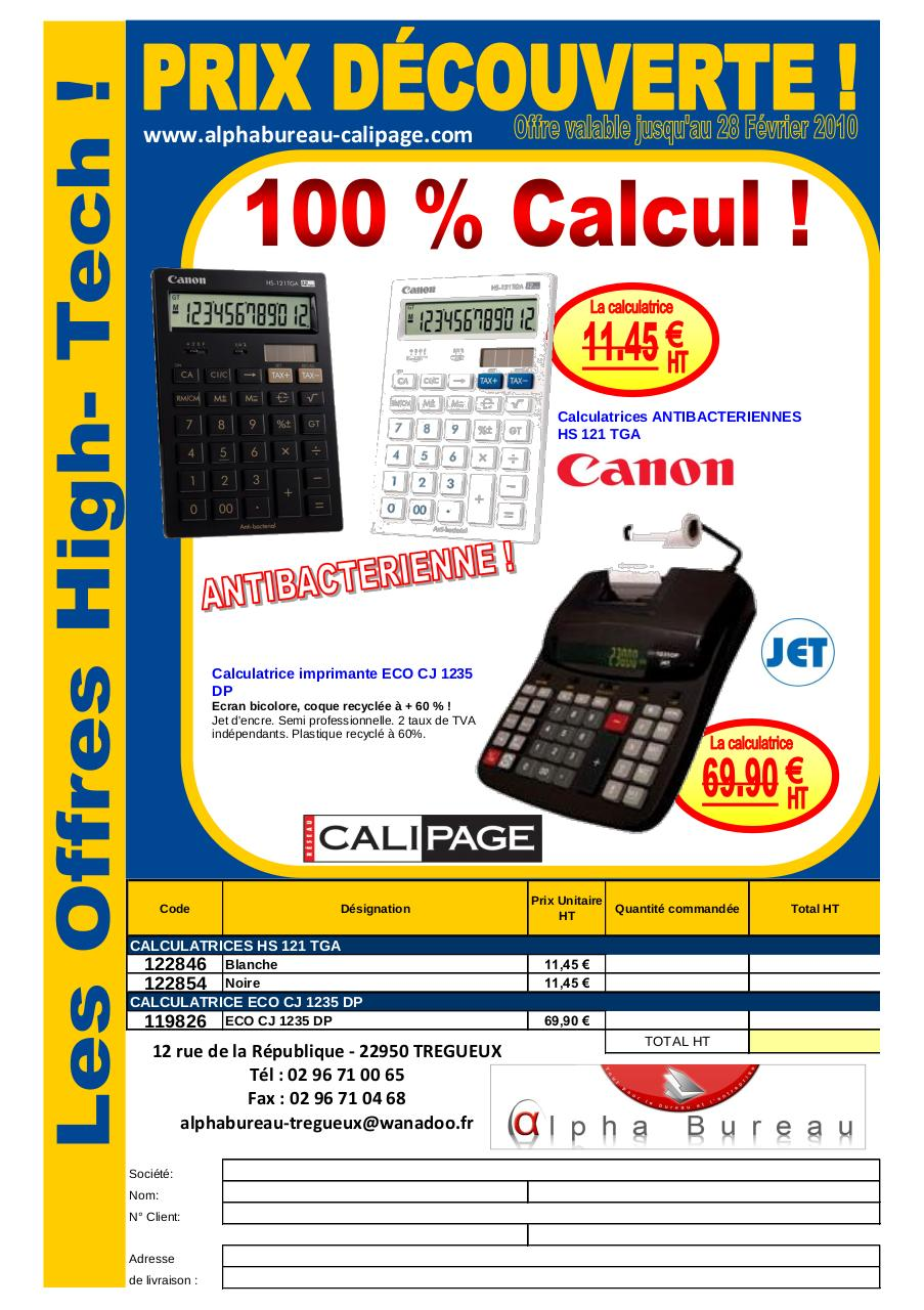 Aperçu du document canon calculatrice.pdf - page 1/1