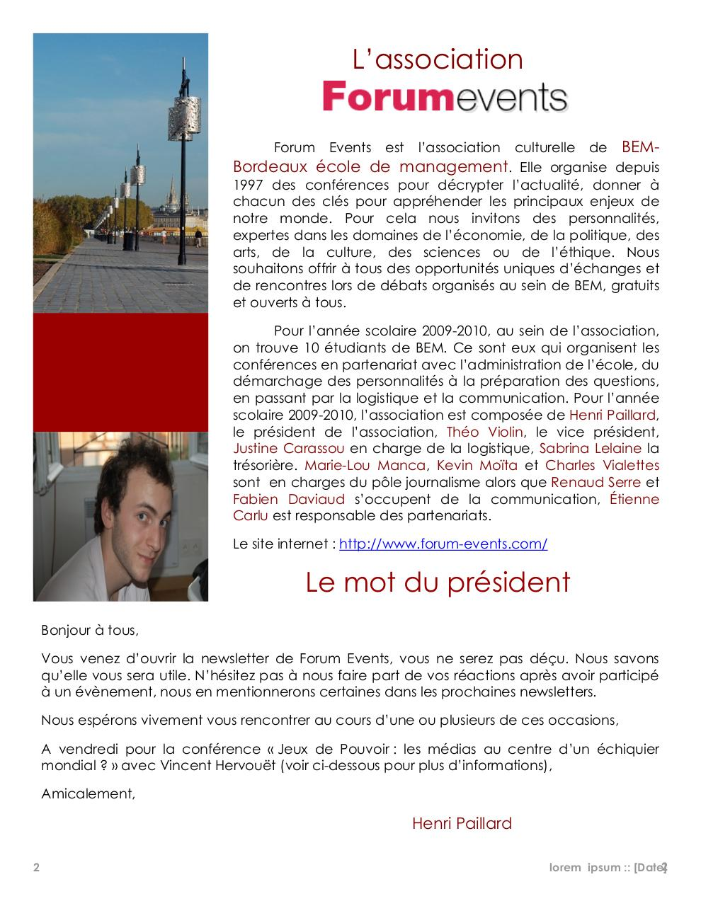 Events News Février 2010.pdf - page 2/5