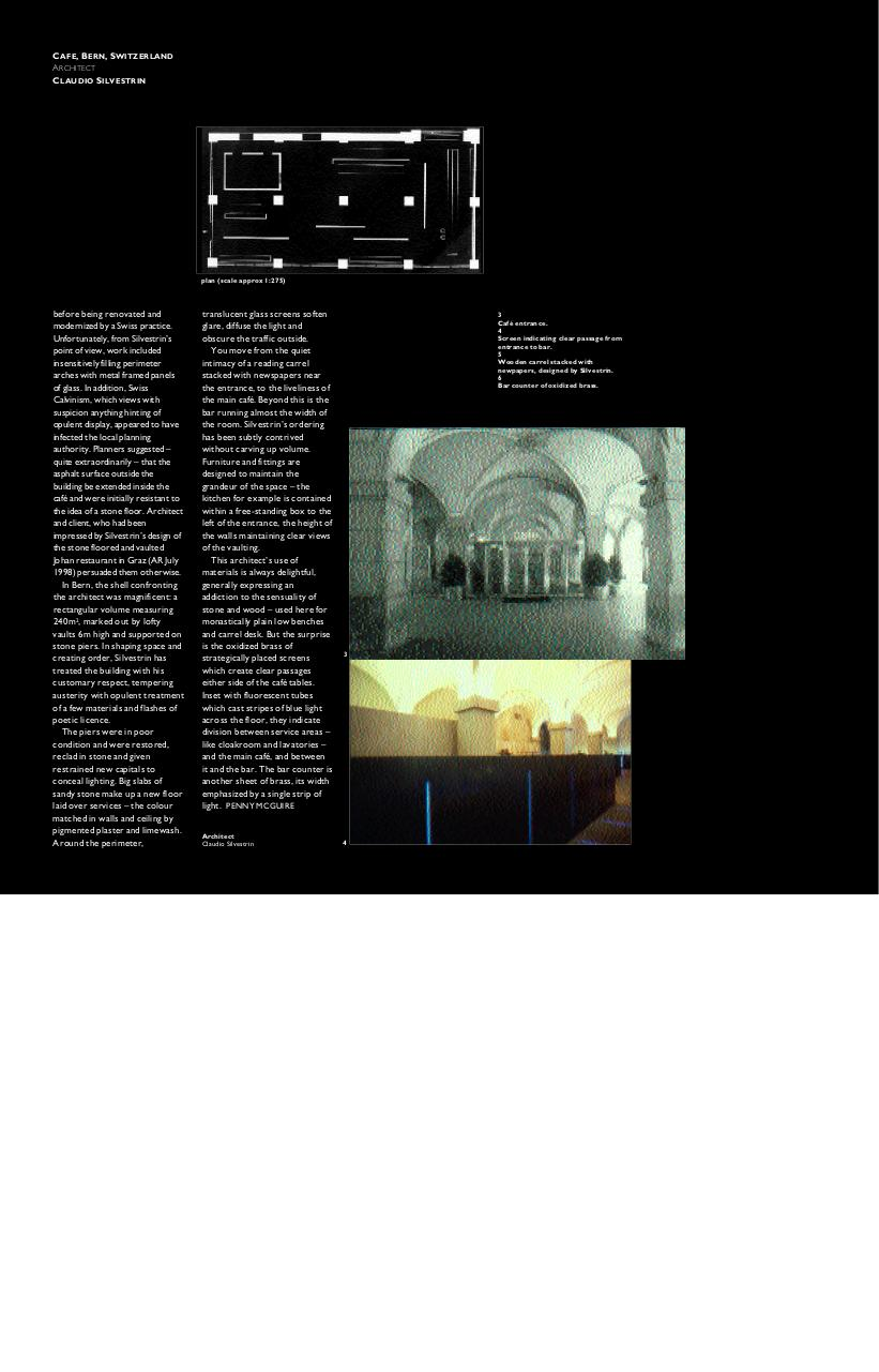 [architecture article]architectural review_claudio silvestrin,aug99.pdf - page 2/3