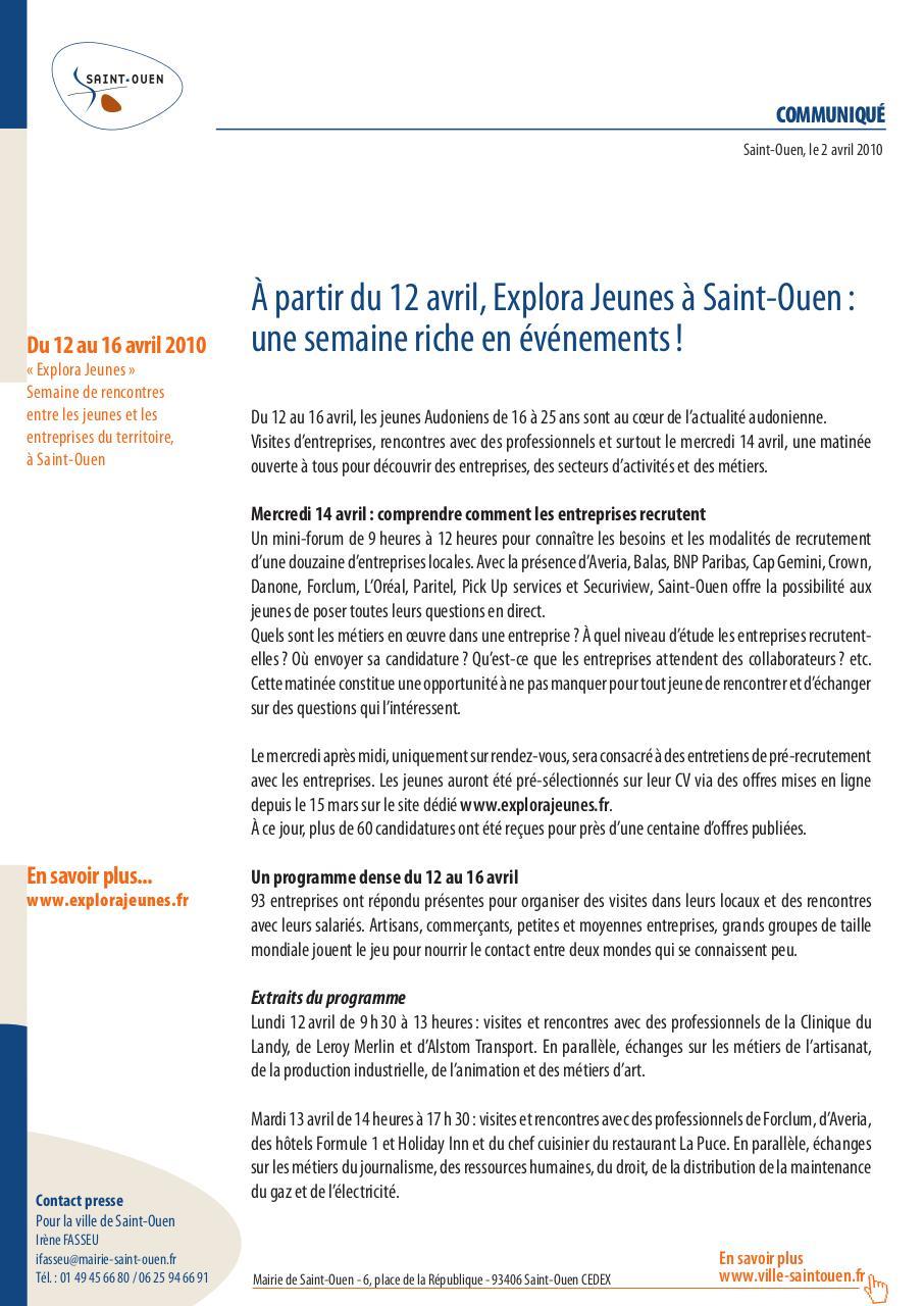 Cp Explora Jeunes 020410 1 Fichier Pdf