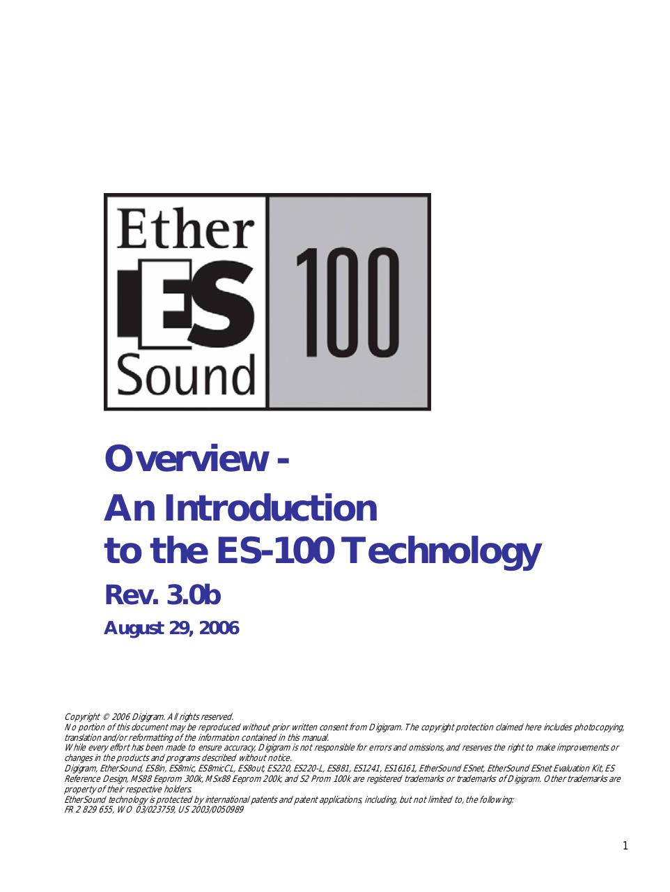 EtherSound_Overview.pdf - page 1/15