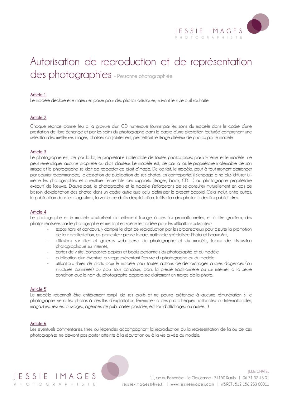 Aperçu du document Autorisation de representation.pdf - page 1/2