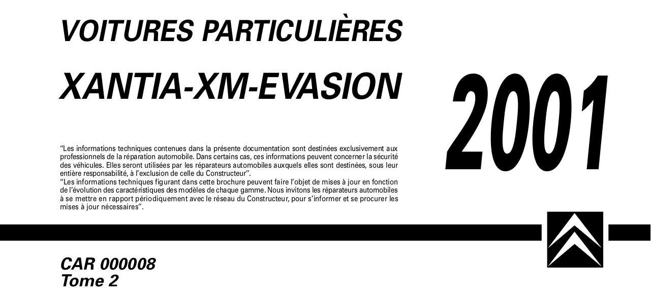Aperçu du document xm citroen.pdf - page 1/306