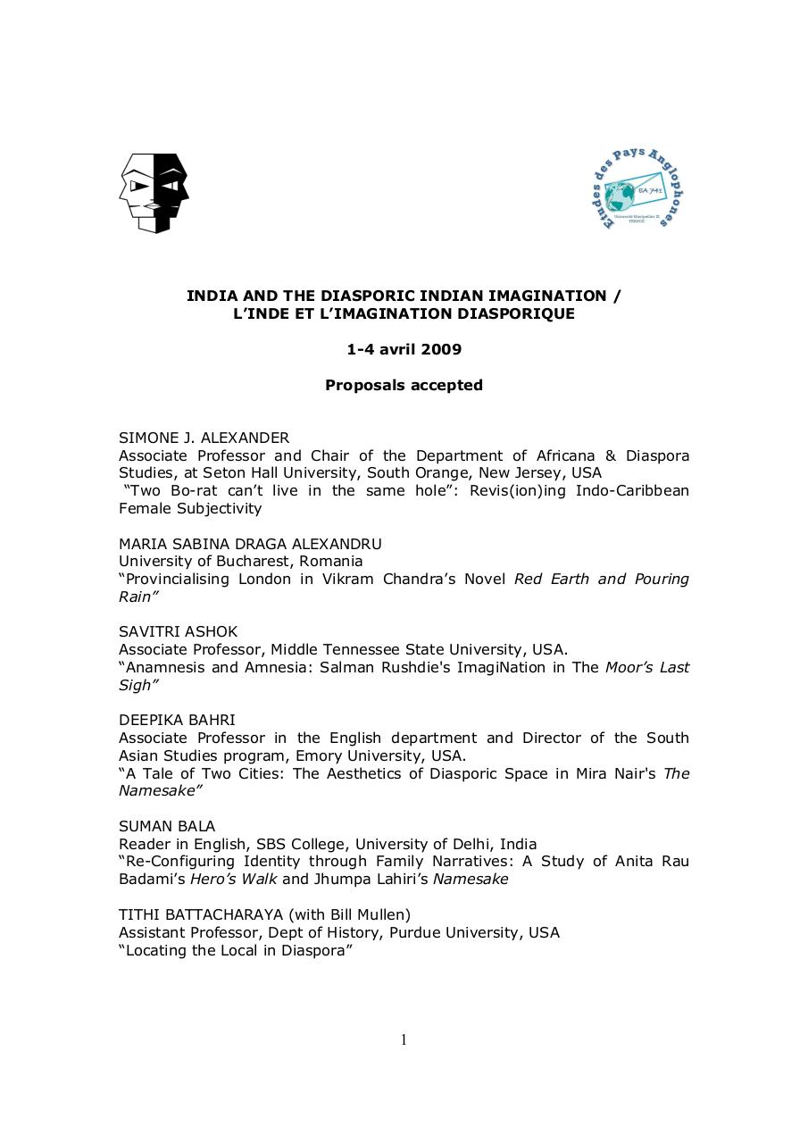 Proposals par ronzetti - Seminar Paper pdf - Fichier PDF