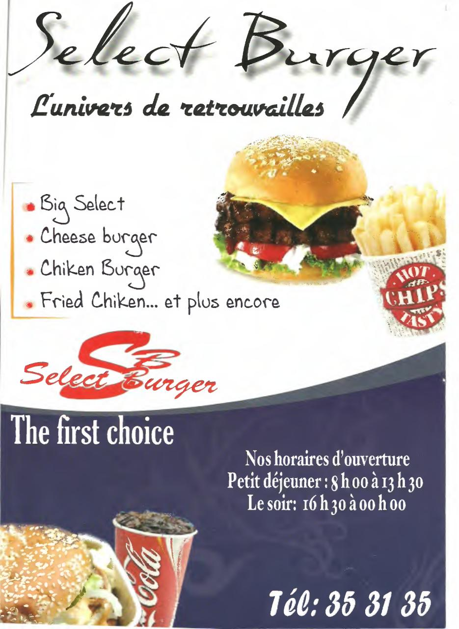 Aperçu du document SELECT BURGER.pdf - page 1/2