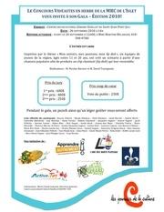 invitation gala 2