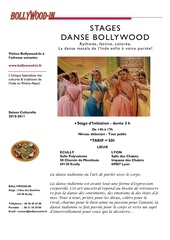 stage danse bollywood