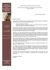 lettre ouverte ahmed taoufik