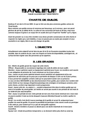 charte de guilde bif