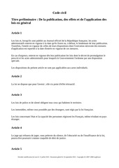 Fichier PDF code civil