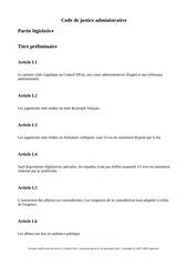 code de justice administrative