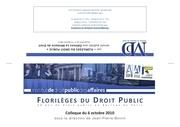 invitation colloque florileges du droit public