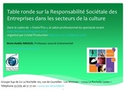developpement durable culture presentation