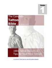 the complete tattoo bible pt1