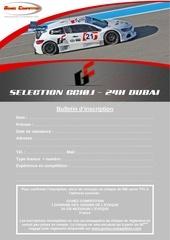 Fichier PDF bulletin d inscription selection gc10 dubai 2011
