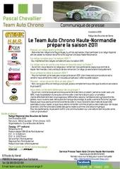 communique presse team auto chrono rallye des boucles de seine