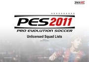 pes2011 unlicensed 20squad lists