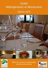 brochure hebergements 20100722