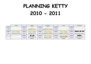 planning ketty 2010 2011