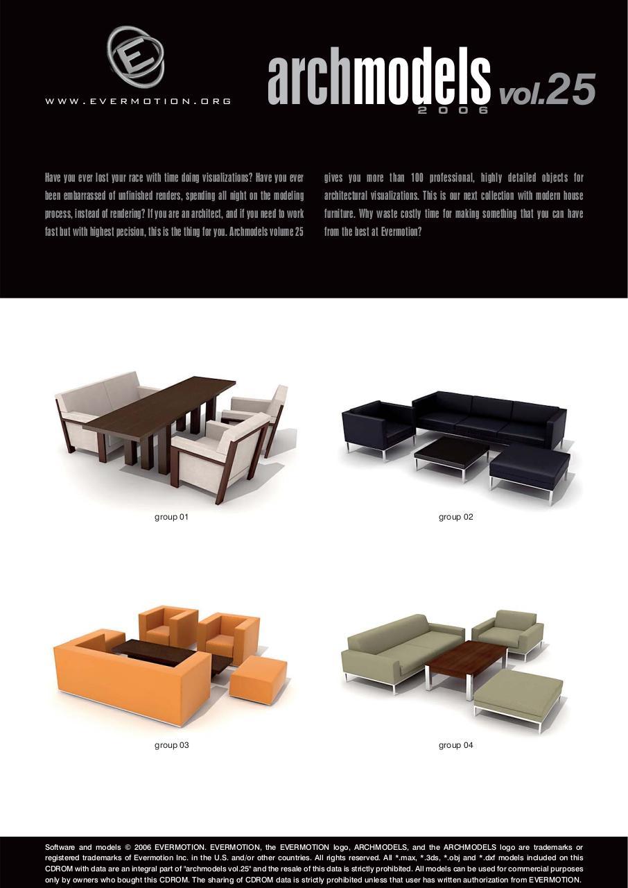 Evermotion Archmodels Sofa Pdf | Taraba Home Review