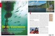 ouest canadien l appel de la mer emeraude plongee magazine