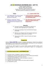 programme incoterms 2010 pays de loire