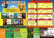 programme octobre 2010 cinema le club locmine