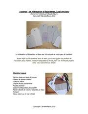 claralesfleurs tutoriel etiquettes tissu 1