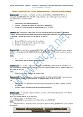 Fichier PDF amort lineaire problemes de calcul