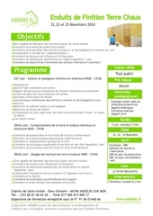 fiche programme formation