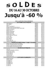soldes magazic oct2010
