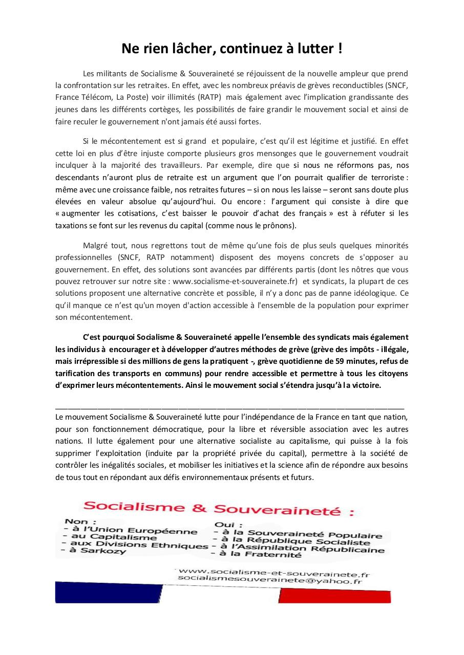 Aperçu du document Tract Ne rien lacher.pdf - page 1/1