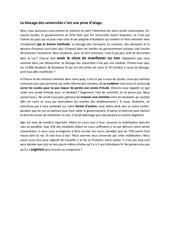 Fichier PDF blocage des universites