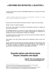tract depute 1