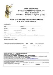 fiche inscription challenge