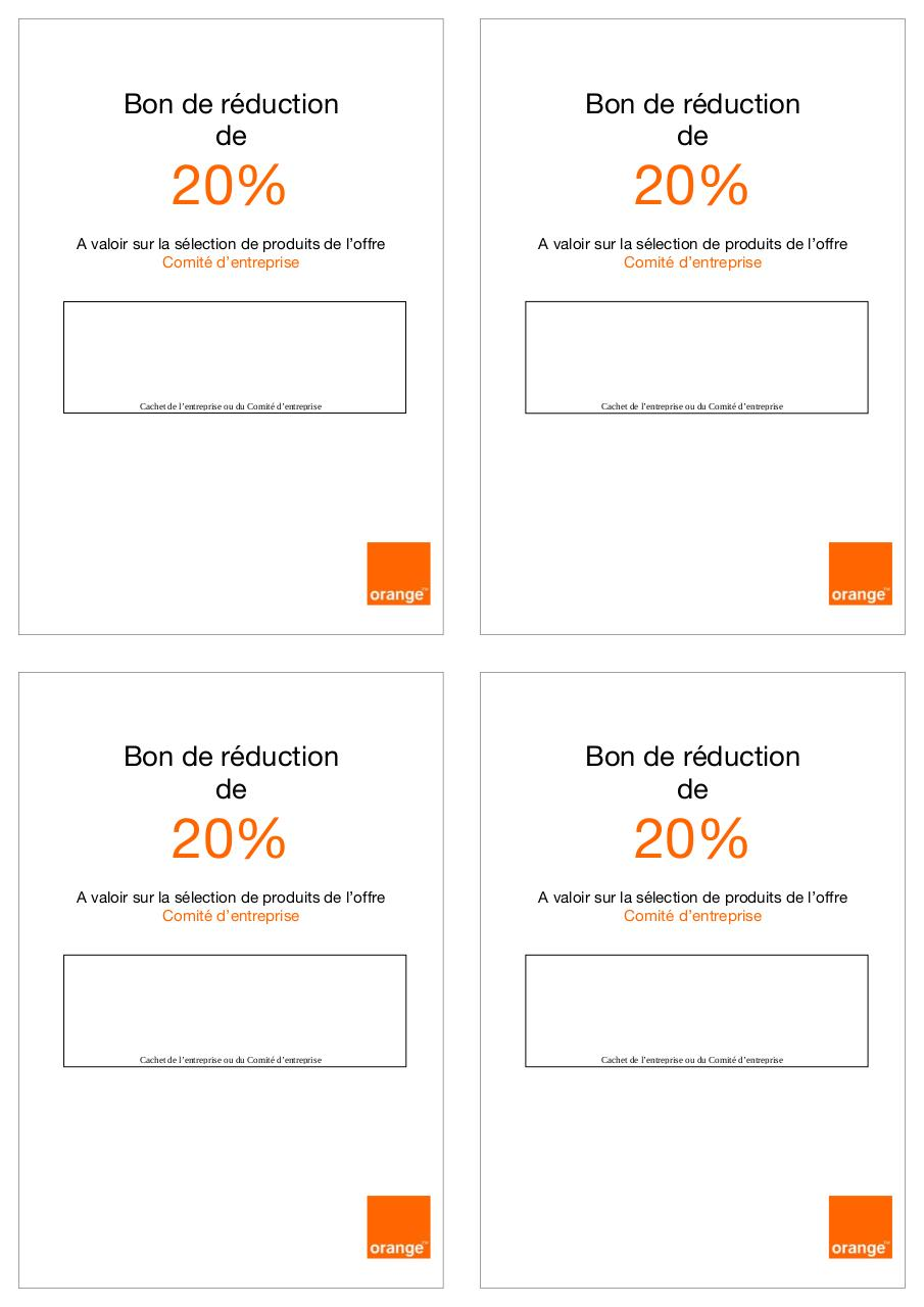 Bon de r par upsu5232 bon de r duction fichier pdf - Alinea bon de reduction ...
