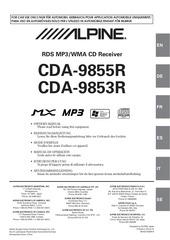 Fichier PDF alpine cda 9855r