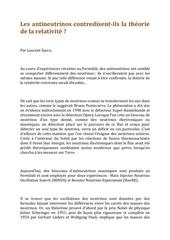 Fichier PDF les antineutrinos