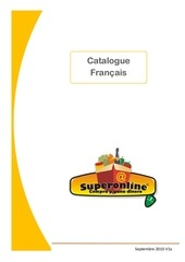 catalogue francais