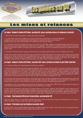 guide relances