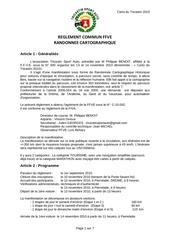 reglement carto 2010