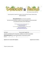 Fichier PDF accord parentale a imprimer et remplir a l 1
