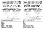 tract reservation repas noir et blanc