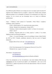 Fichier PDF art contemporain l2