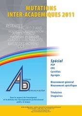 mutations academiques ad 2011