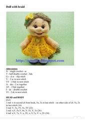 doll with braid