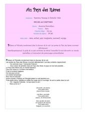 Fichier PDF au pays des reves