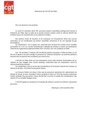 declaration de l ud allier